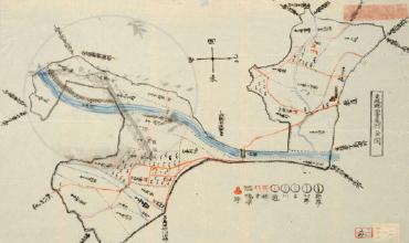 長野県明治初期の村絵図・地図アーカイブページへのリンク画像