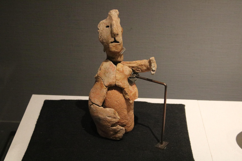 人形土器の写真